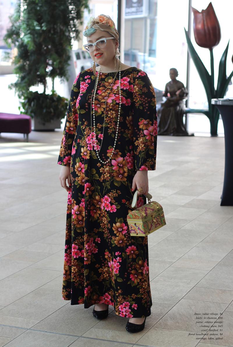 A Celebration of Style: Ottawa Vintage Clothing Show Spring 2016