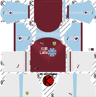 Burnley FC 2018/19 Kit - Dream League Soccer Kits