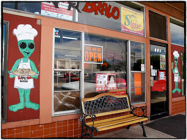 UFO bakery, Roswell, USA