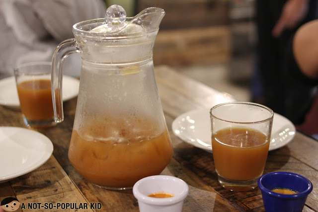 Pitcher of house blend iced tea -Gringo
