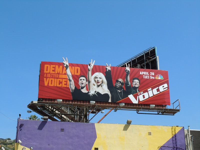 The Voice billboard