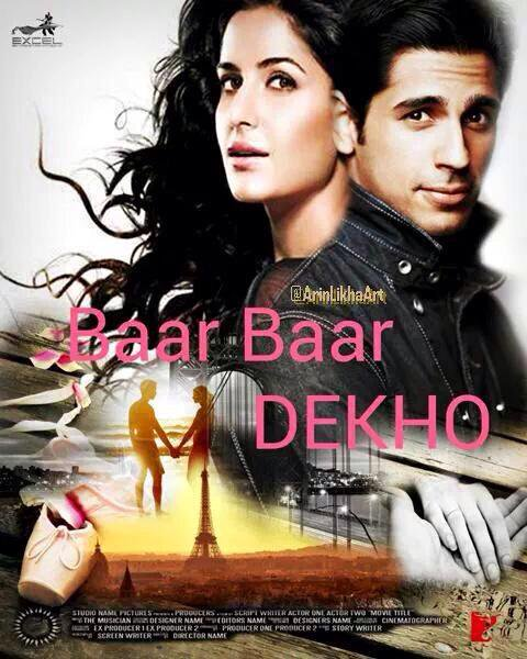 Baar Baar Dekho Official Poster
