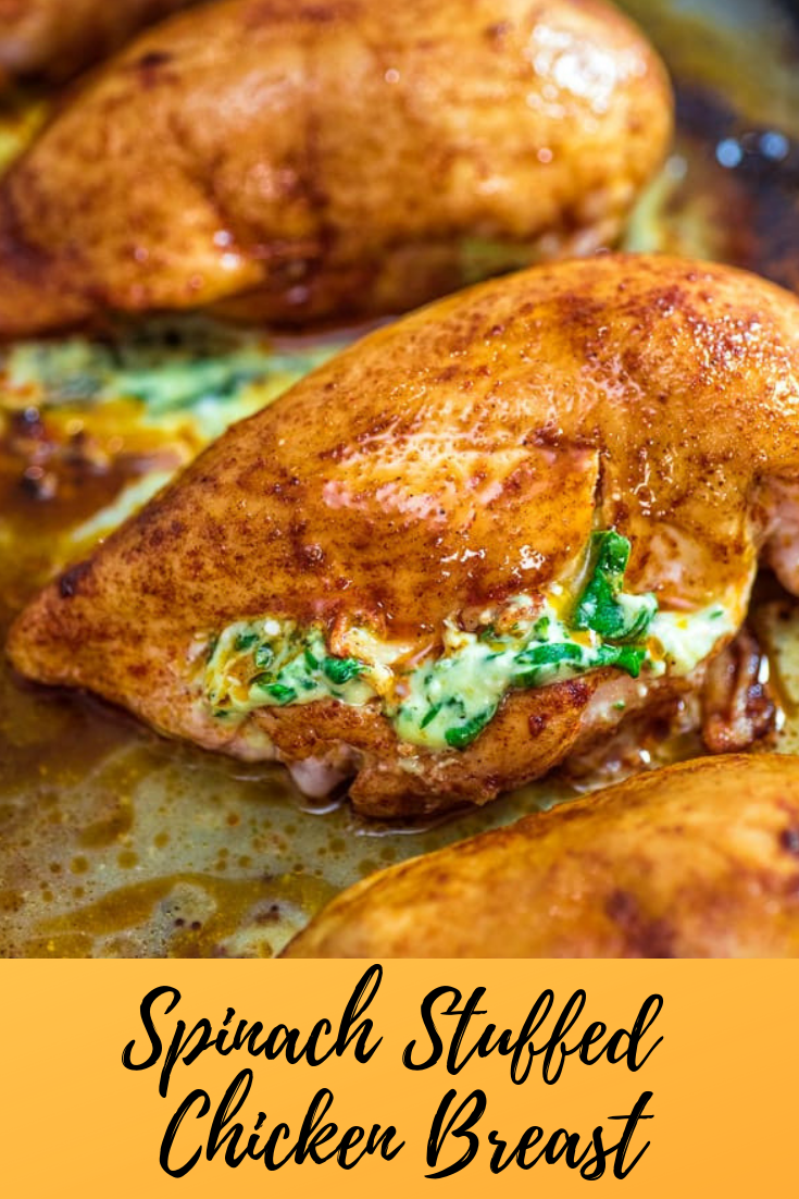 #Spinach #Stuffed #Chicken #Breast