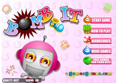 小遊戲 - 小遊戲104: 炸彈寶寶