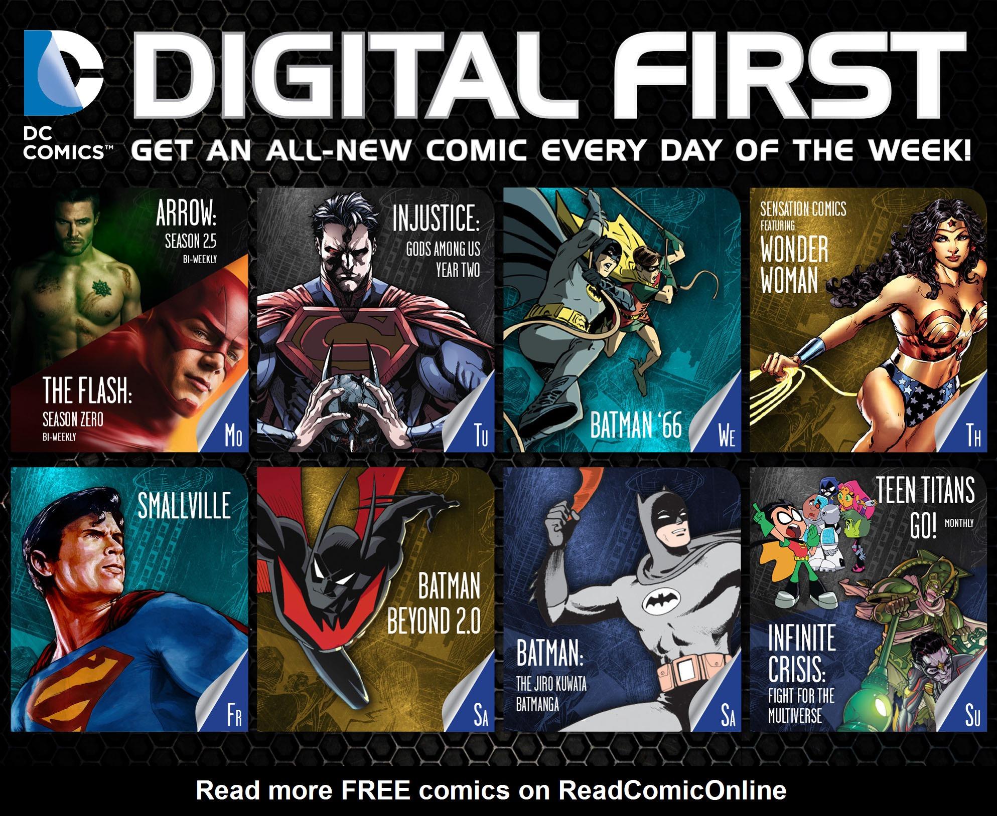 Read online Arrow: Season 2.5 [I] comic -  Issue #2 - 23
