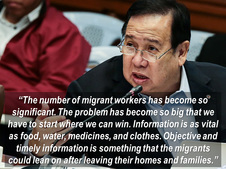 "More than 12 million Filipinos are working and living abroad as Overseas Filipino Workers. The growing volume of labor migration from the Philippines has increased the incidence of problems and challenges faced by migrants and their families.   PRC,  has been supporting OFW cases eversince through its Welfare Service by assuring that humanitarian assistance reaches the OFWs and their families.    The Philippine Red Cross (PRC) launched its first Virtual Volunteer web platform in the Philippines.  In collaboration with the International Federation of Red Cross and Red Crescent Societies (IFRC), the Virtual Volunteer, the latest digital platform, offers to support the Overseas Filipino Workers (OFWs) and their families by relaying useful information before considering working abroad, and while they work overseas, they  provide links with services which are available.   The Virtual Volunteer, is a source of verified local information from any connected device,  provides information for migrants safety and health on their migration. It provides OFWs and family with information, likewise to PRC volunteers enabling them to engage with local communities, contributing in delivering essential knowledge to people throughout the country.   Developed by the IFRC and tech giant IBM, the web platform has already been operational in Greece and Sweden where it has been availed by almost 30,000 people.   Sponsored Links What is in the Virtual Volunteer On the platform, users can find practical information and advice from Red Cross, such as: What they need to know before they leave the country (how to find local support in their destination, documents to bring, practical advice in the Philippines and in countries of destination, tips and more); Know information at destination (emergency contacts, where is the embassy, who they can call for help); and Information on what services are available for family members back home, offered by Red Cross and others, and connects people at any stages of migration with relevant services.  PRC has also provided the following services: Psychosocial Support Program: OFWs and family members can contact the Red Cross for psychosocial support to cope with possible changes brought about by overseas employment of a family member; Home and School Visits:  Visit of Red Cross personnel to the family of OFWs to ensure the family is doing alright in the absence of the OFW;  Crisis Intervention: Support to OFWs' families who are in crisis situations; Restoring Family Links: Reconnect family members who have lost contact with a loved one; Ambulance Service: Ambulance service for returning OFW in need will be provided from the airport to the nearest hospital within Metro Manila;   and Referral: Refer people in need to other organizations for services which are not within the scope of the Red Cross services.   Virtual Volunteer will also provide frequently asked questions to be read by the OFWs when facing difficult situations.  For information you can contact: Philippine Red Cross Hotline: 143 Trunkline: +63 (02) 790-2300local 916 Email: lifeline@redcross.org.ph/ welfare@redcross.org.ph  Here are the three steps to access the Virtual Volunteer:  Step 1: Connect to internet or wifi;  Step 2: Visit www.virtualvolunteer.org;  Step 3: Get help and be informed  Source: PIA Migration report shows that more than 12 million Filipinos are working and living abroad. The growing volume of labor migration from the Philippines has increased the incidence of problems and challenges faced by migrants and their families.   ""People going abroad do not usually know where to seek information and what available services they have. The right information can help them avoid falling in situations of abuse, exploitation, or traffickers. This web platform is a key in saving lives and building resilience. Having information easily accessible through a connected mobile phone is an easy, light way to prepare before going to a new country and access information once at destination,"" said PRC Secretary General Atty. Oscar Palabyab.   PRC, since day one, has been supporting OFW cases through its Welfare Service by making sure that humanitarian assistance will be delivered to the OFWs and their families.   ""I always envisioned that one day, our OFWs will no longer have to leave the Philippines and their loved ones for better work abroad. More time with family means stronger relationship,"" said Gordon. The Philippine Red Cross (PRC) unveils its first-ever Virtual Volunteer web platform in the Philippines at the PRC Tower Penthouse, Mandaluyong City.   Together with the International Federation of Red Cross and Red Crescent Societies (IFRC), the Virtual Volunteer, the newest digital platform, offers support to the Overseas Filipino Workers (OFWs) and their family members by providing useful information before considering migrating, while in abroad, and linking up with available services.   ""The number of migrant workers has become so significant. The problem has become so big that we have to start where we can win. Information is as vital as food, water, medicines, and clothes. Objective and timely information is something that the migrants could lean on after leaving their homes and families,"" said PRC Chairman Richard Gordon.   The Virtual Volunteer, a source of verified local information from any connected device, aims to provide information to keep migrants safe and healthy at all stages of migration, provide information to OFWs and family members on available services, and provide information to PRC volunteers to help them engage with communities locally, contributing to delivering essential knowledge to people in every corner of the country.   It also provides reliable and unbiased information on what to do in case of emergency while in abroad, how to prepare for a new life abroad, and how to protect themselves from traffickers and abuse at any stage.   The web platform, developed by the IFRC and tech giant IBM, has already been rolled out in Greece and Sweden where it has been used by almost 30,000 people.   With the campaign, ""Gabayanihan: Gabayan. Bayanihan. Kahit saan. Kahit kailan,"" the launching ceremony will highlight the importance of the web platform in delivering information to OFWs and those planning to go abroad. Sponsored Links What is in the Virtual Volunteer On the platform, users can find practical information and advice from Red Cross, such as: What they need to know before they leave the country (how to find local support in their destination, documents to bring, practical advice in the Philippines and in countries of destination, tips and more); Know information at destination (emergency contacts, where is the embassy, who they can call for help); and Information on what services are available for family members back home, offered by Red Cross and others, and connects people at any stages of migration with relevant services.  PRC has also provided the following services: Psychosocial Support Program: OFWs and family members can contact the Red Cross for psychosocial support to cope with possible changes brought about by overseas employment of a family member; Home and School Visits: Visit of Red Cross personnel to the family of OFWs to ensure the family is doing alright in the absence of the OFW; Crisis Intervention: Support to OFWs' families who are in crisis situations; Restoring Family Links: Reconnect family members who have lost contact with a loved one; Ambulance Service: Ambulance service for returning OFW in need will be provided from the airport to the nearest hospital within Metro Manila; and Referral: Refer people in need to other organizations for services which are not within the scope of the Red Cross services.   Virtual Volunteer will also provide frequently asked questions to be read by the OFWs when facing difficult situations.  How to contact us: Philippine Red Cross Hotline: 143 Trunkline: +63 (02) 790-2300local 916 Email: lifeline@redcross.org.ph/ welfare@redcross.org.ph  Here are the three steps to access the Virtual Volunteer:  Step 1: Connect to internet or wifi;  Step 2: Visit www.virtualvolunteer.org;  Step 3: Get help and be informed  Putting together information in the hands of OFWs and their families is a necessity to cross communication barriers and to allow access to more relevant services. (PRC)  Source: PIA   Advertisement Read More:  ©2017 THOUGHTSKOTO  Advertisement Read More:  ©2017 THOUGHTSKOTO"