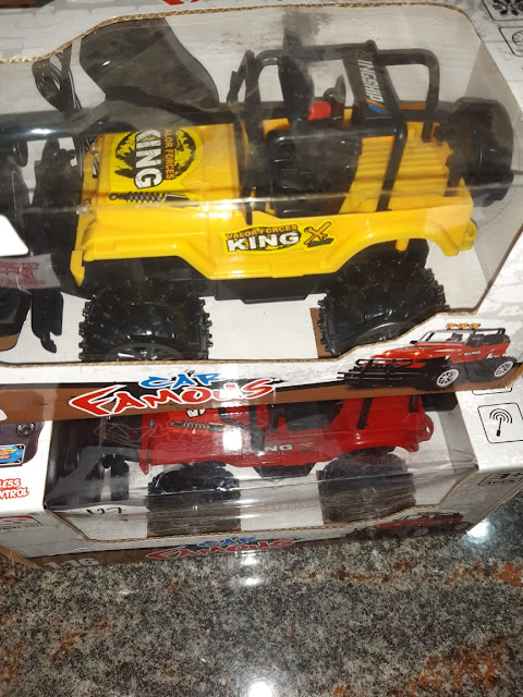 Remote Control Jeep King Plus Charger Free Baterai