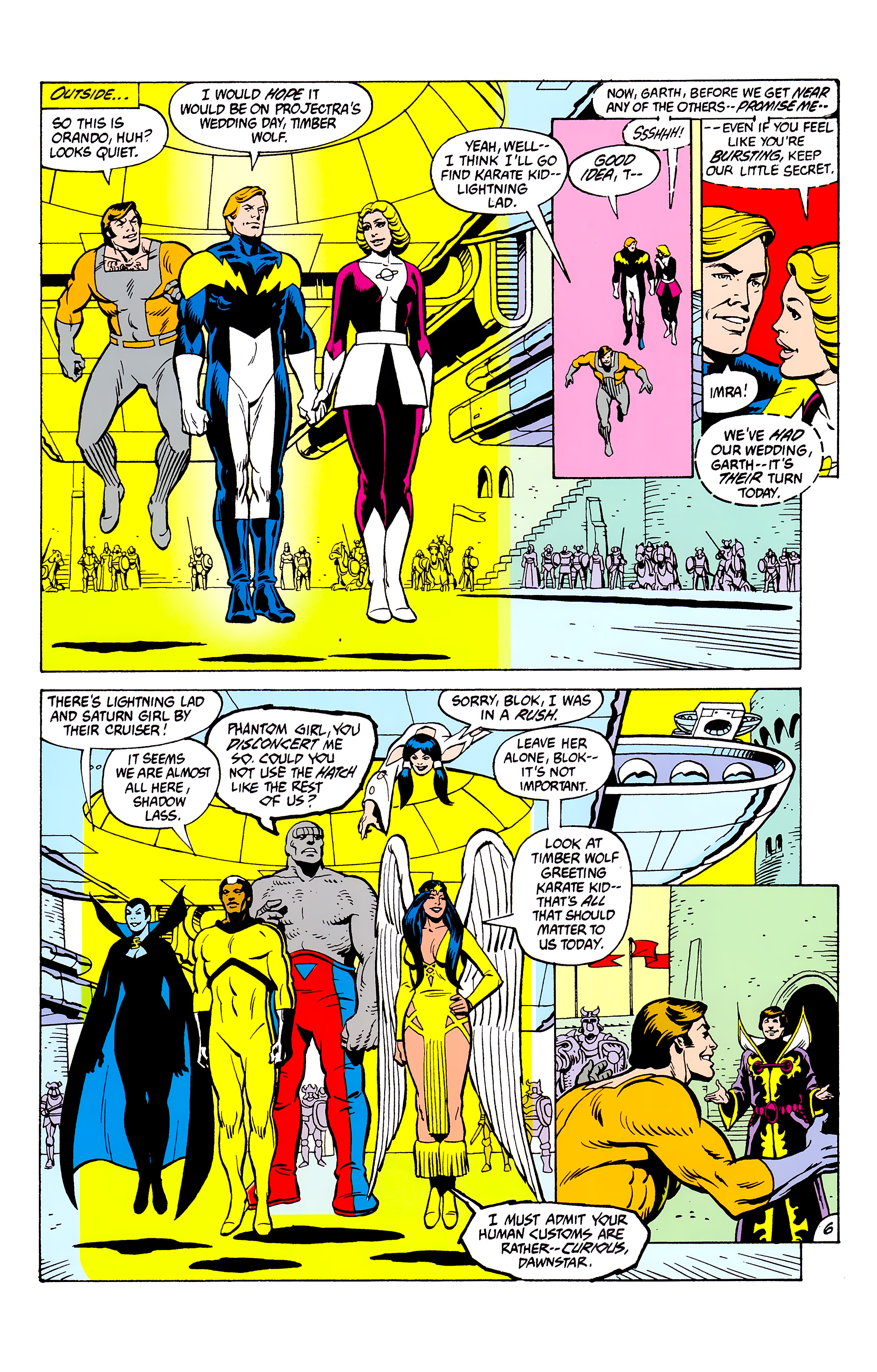 Legion of Super-Heroes (1980) _Annual_2 Page 6