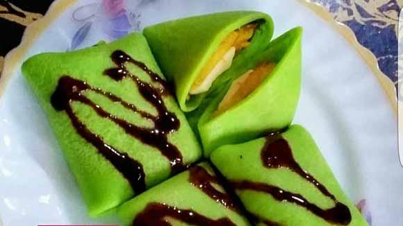 Resep Membuat Banana Pancake Yang Lembut, Wangi dan Ueeenak Pastinya dari Durian by Bunda Ulfa