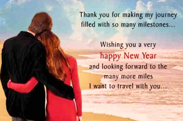 Happy New Year 2018 SMS Wishes for Husband