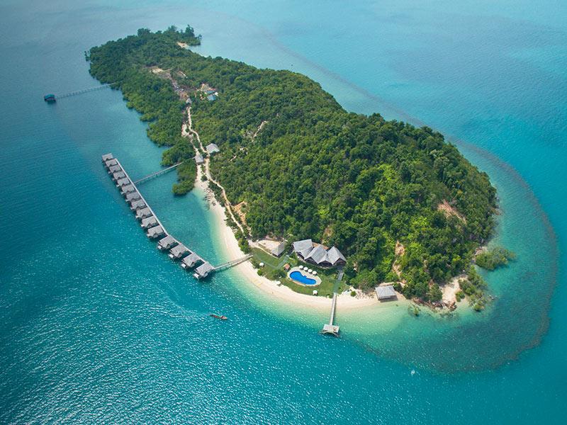 Pulau Telunas Surga Tersembunyi di Karimun