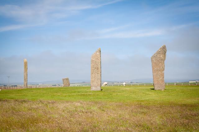 Standing stones di Stennes-Isole Orcadi