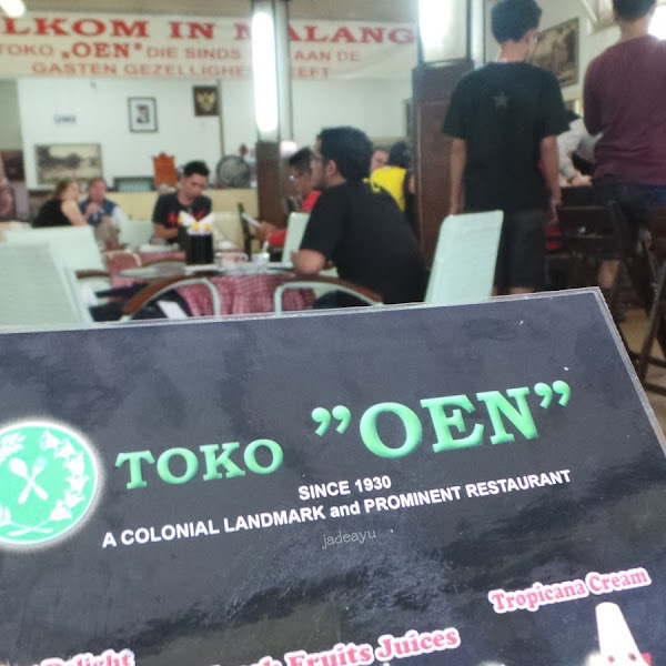 Malang - Toko Oen dan Rumah Makan Kertanegara