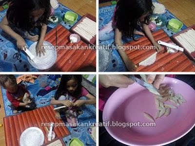 Cara Membuat Keripik Kulit Lumpia
