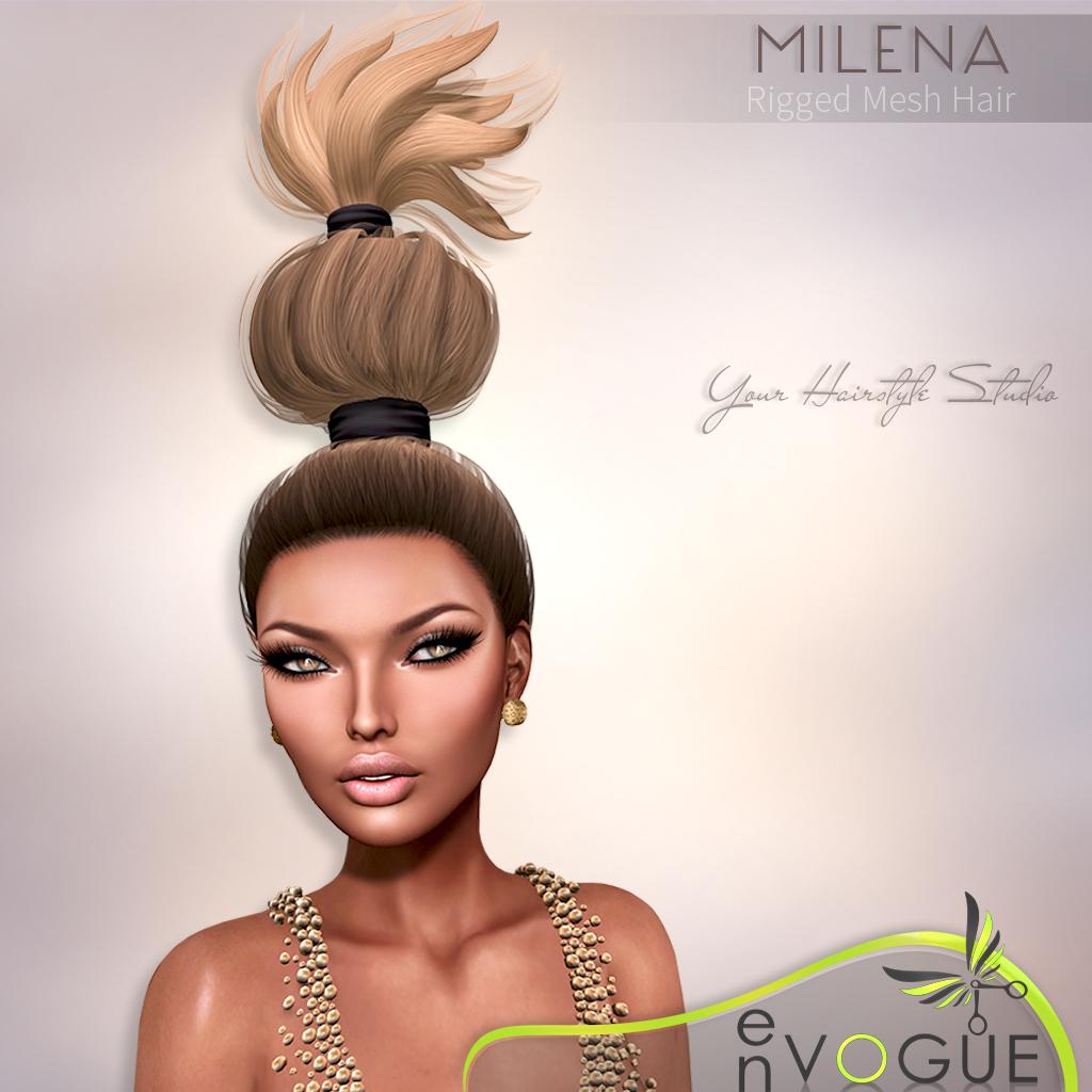 EnVOGUE Hairstyle Studio New Mesh HAIR Milena