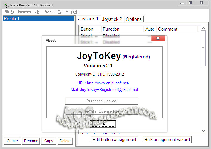 JoyToKey 5 2 1 Full Serial Key - THE RED JUMP SIUT