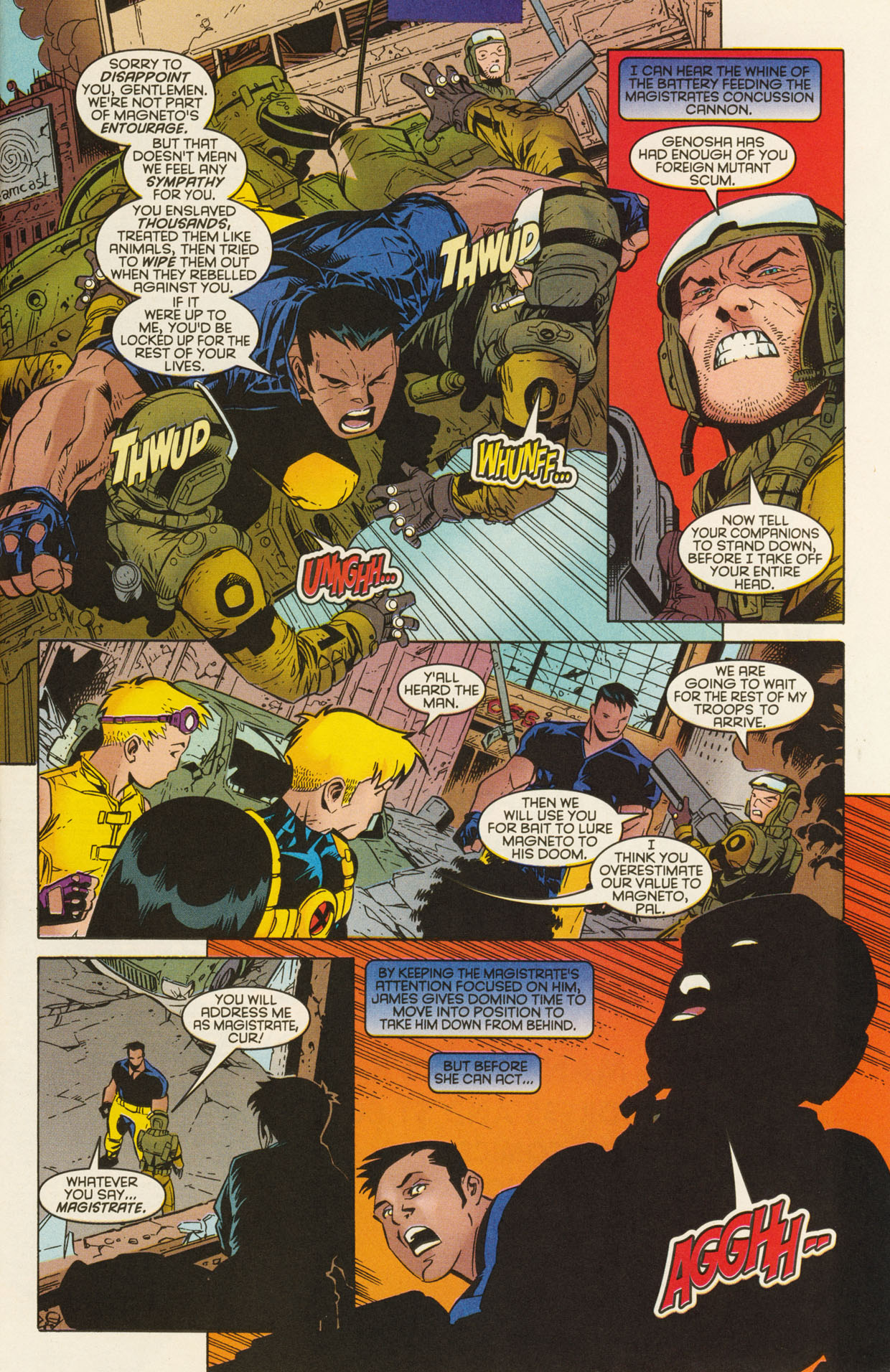 Read online X-Force (1991) comic -  Issue #94 - 7