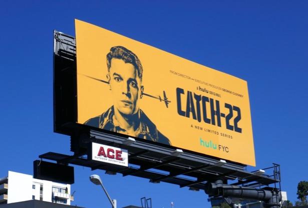 Catch 22 Hulu limited series billboard