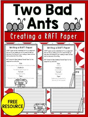 n this post, we focus on building word choice in writing featuring the book, Two Bad Ants. Check out this post for other mentor text recommendations for word choice.