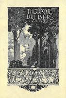 Theodore Dreiser's bookplate