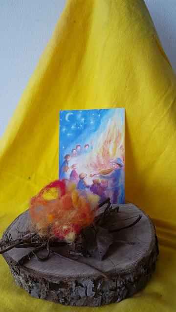 St.Jan vuur op de seizoentafel Atelier de Vier Jaargetijden