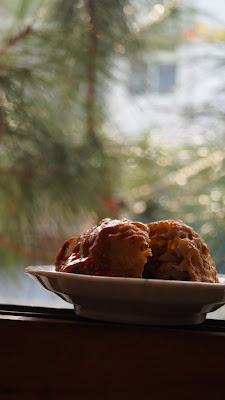 窗邊品嚐美食