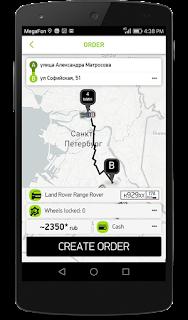 Aplikasi mobile untuk memesan truk derek, CARTAXI