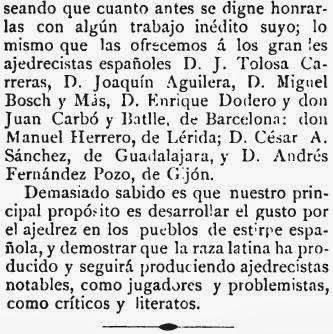 Recorte de El Pablo Morphy sobre el match de ajedrez Baquero - Martínez de Carvajal (5)