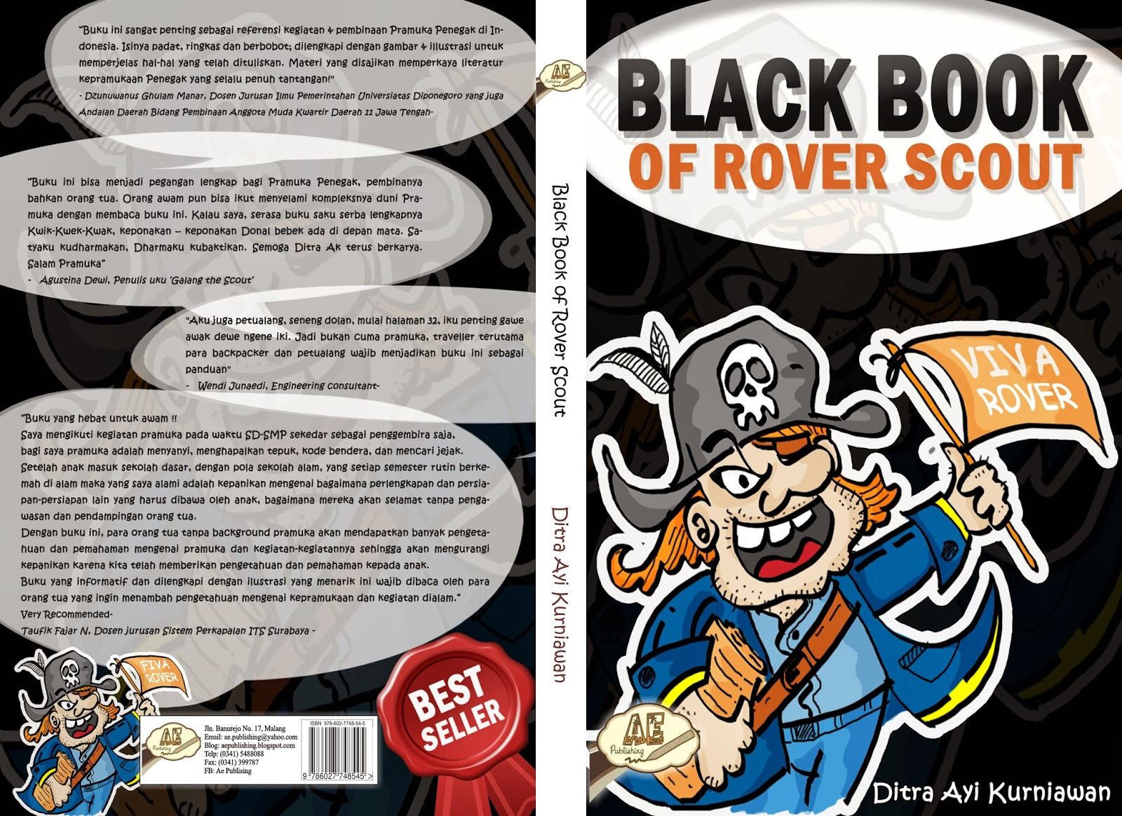 Black Book Of Rever Scout Ae Publishing Penerbit Indie Terbaik