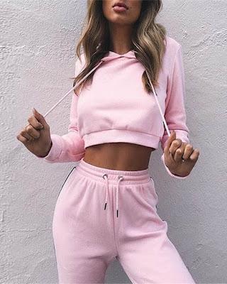 outfit deportivo rosa de moda tumblr