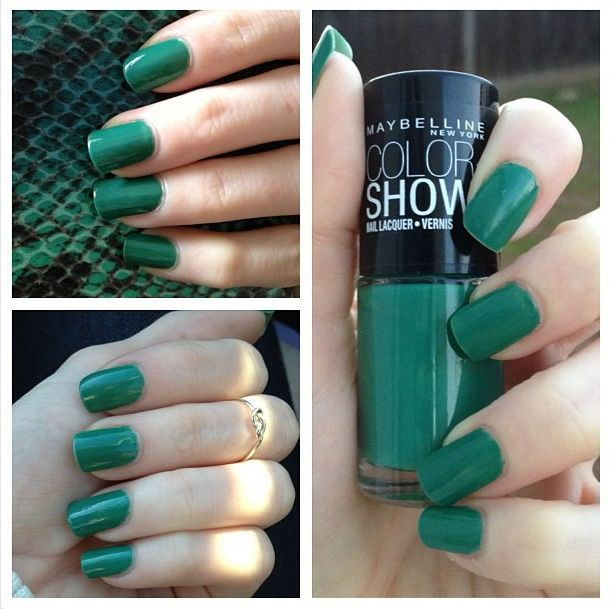 Notd Maybelline Color Show Tenacious Teal