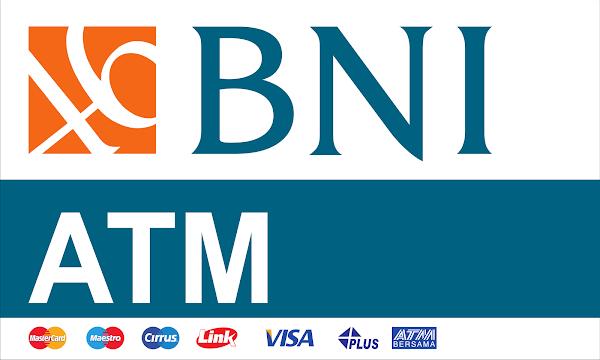 Bank BNI atm neonbox