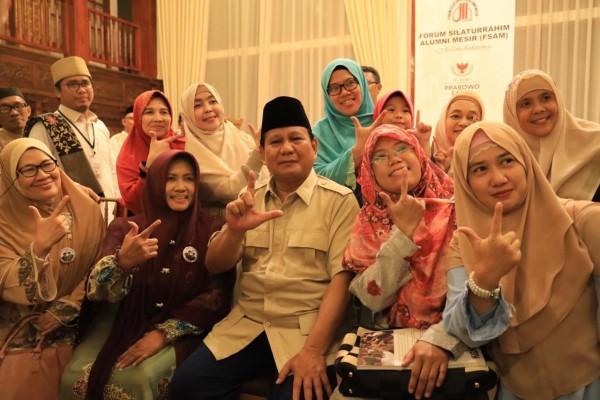 Prabowo: Tugas Saya Dulu Ngejar-ngejar Sohibul Iman dan Amien Rais