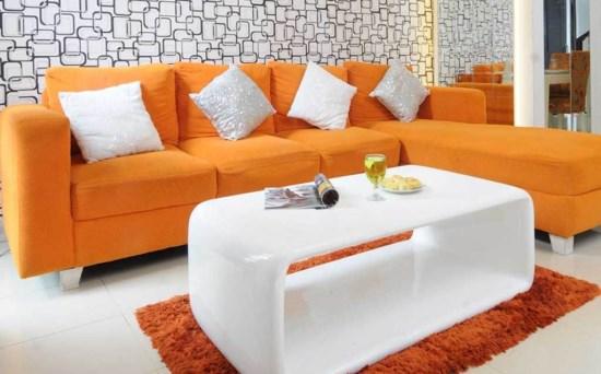 Contoh model sofa ruang tamu minimalis terbaru