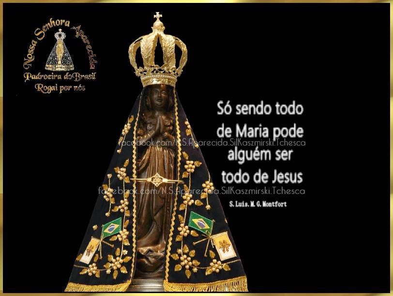 Querida Padroeira Do Brasil Abenç Frases Nossa Senhora: Nossa Senhora Aparecida Padroeira Do Brasil Rogai Por Nós