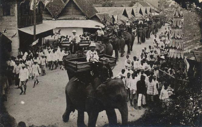 1931 год Чианг Май старая фотография Таиланда