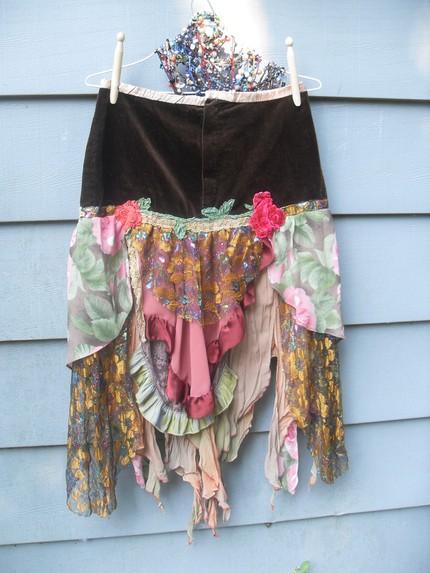 Dishfunctional designs vintage handkerchiefs scarves upcycled and repurposed - Diy ideas repurposing old clothing ...