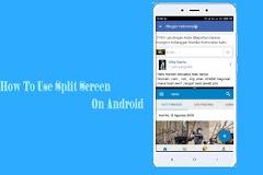 Cara Menggunakan Fitur Split Screen di MIUI 8, 9, 10 Semua Devices Xiaomi