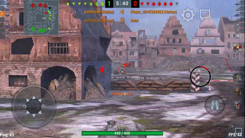 world of tanks blitz hetzer gameplay #1 - bangkong kalem