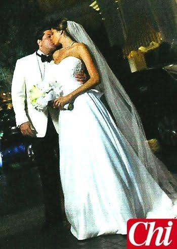 Vestito Da Sposa Aida Yespica.Oggi Sposi Blog Aida Yespica Foto Abito Da Sposa