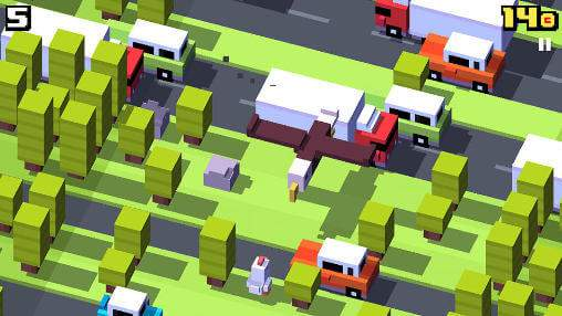 download crossy road for android