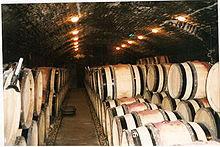 La cave du domaine de la Romanée-Conti