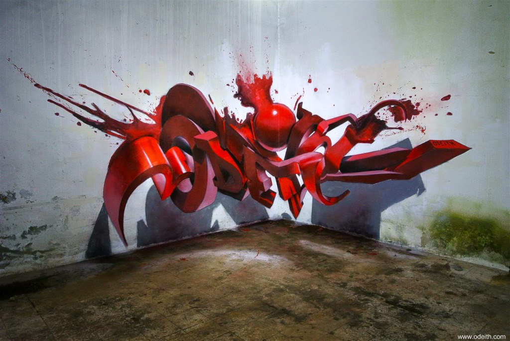 19-Bloody-Red-Drips-Odeith-3D-Anamorphic-Graffiti-Drawings-www-designstack-co