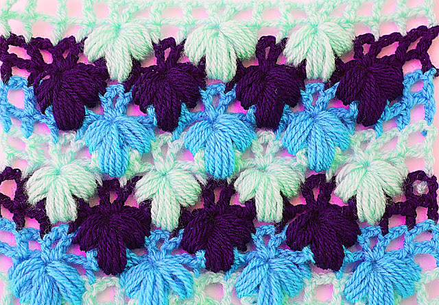 Imagen de puntada verde a crochet y ganchillo Majovel crochet 5