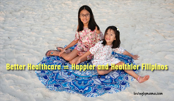 Better Healthcare System for Filipinos - Bacolod mommy blogger - health - wellness - supplements