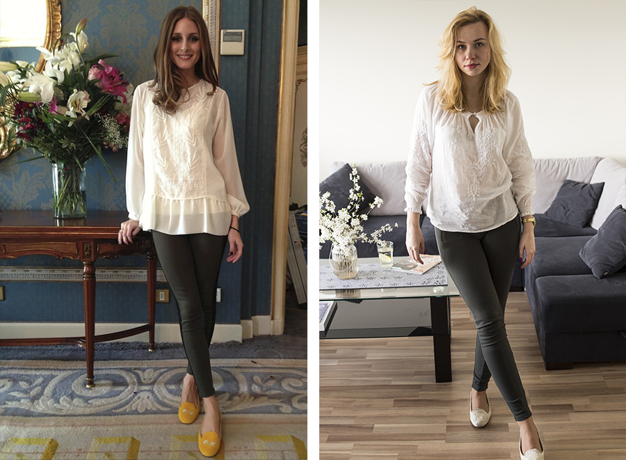 Inspired by : Olivia Palermo