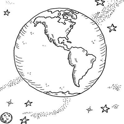 Planeta Terra Desenhos Para Colorir Desenhos Para Colorir