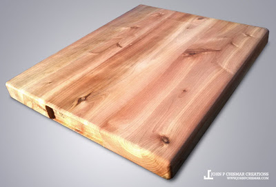 cedar wood cutting board