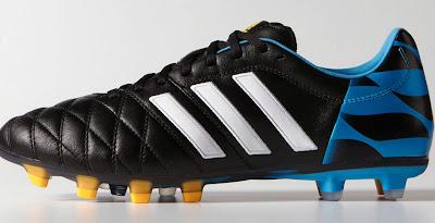 the best attitude 5fe1f cb62f Black   Blue Adidas Adipure 11pro 14-15 Boot Released