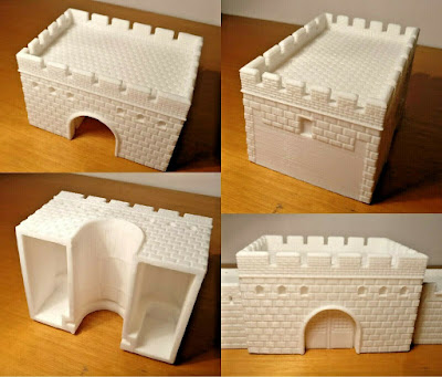 10mm Scale Ancient Great Wall of China picture 3